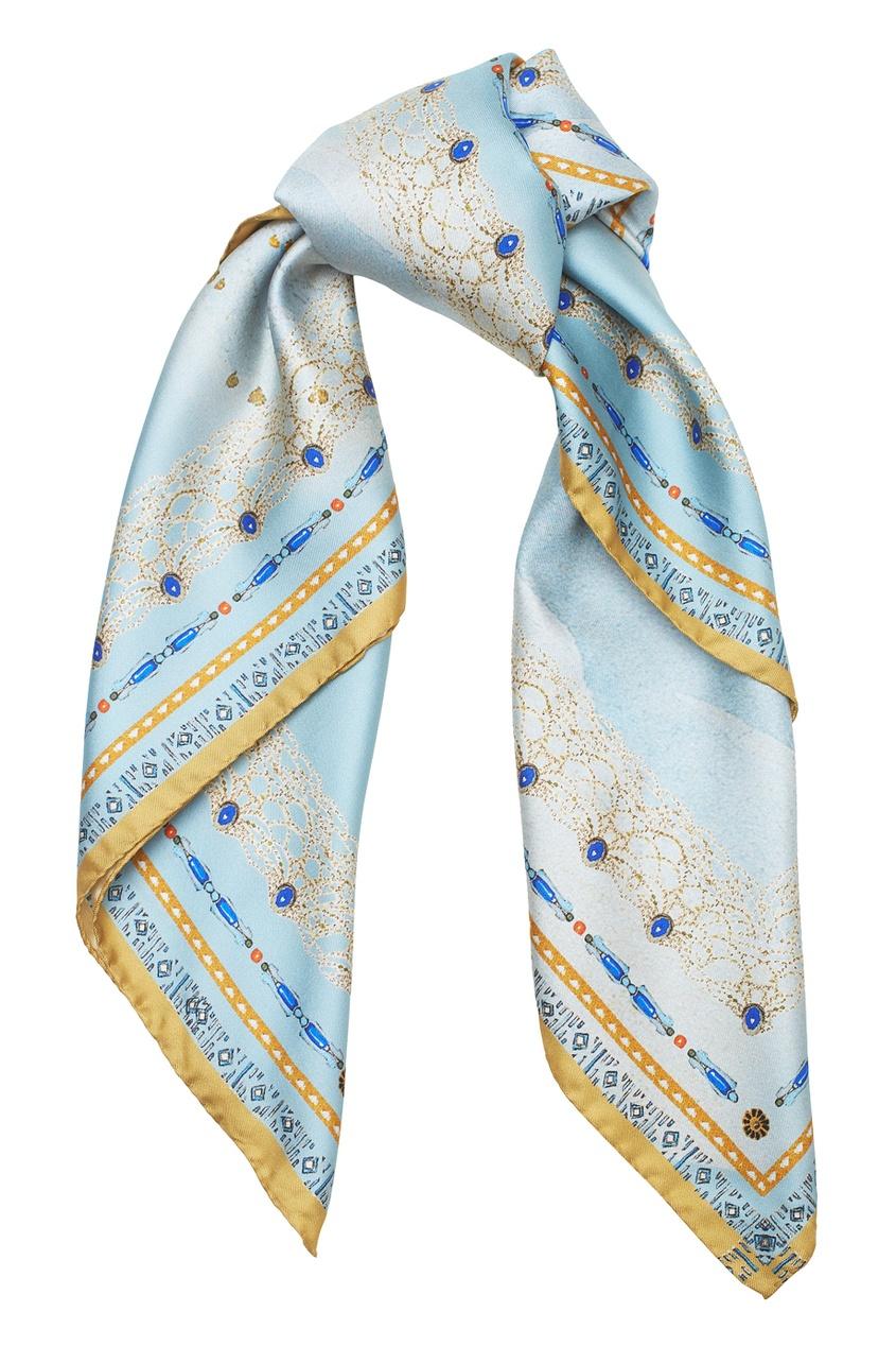 Фото - Шелковый платок «Саломея» от Radical Chic цвет multicolor