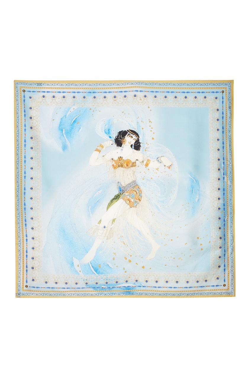Фото 2 - Шелковый платок «Саломея» от Radical Chic цвет multicolor