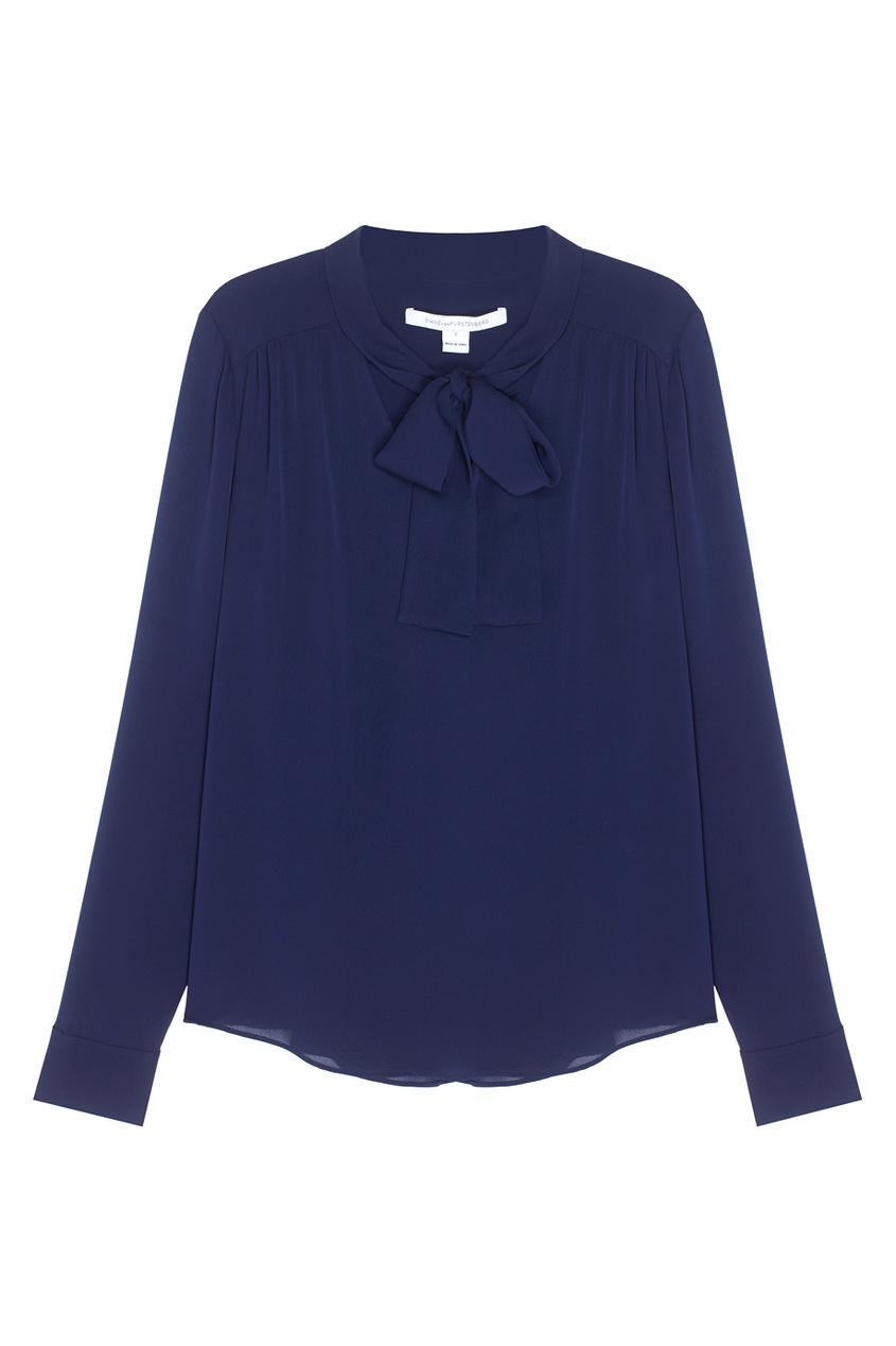 Diane von Furstenberg Шелковая блузка Britni