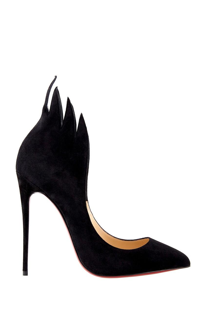 Замшевые туфли Victorina 120