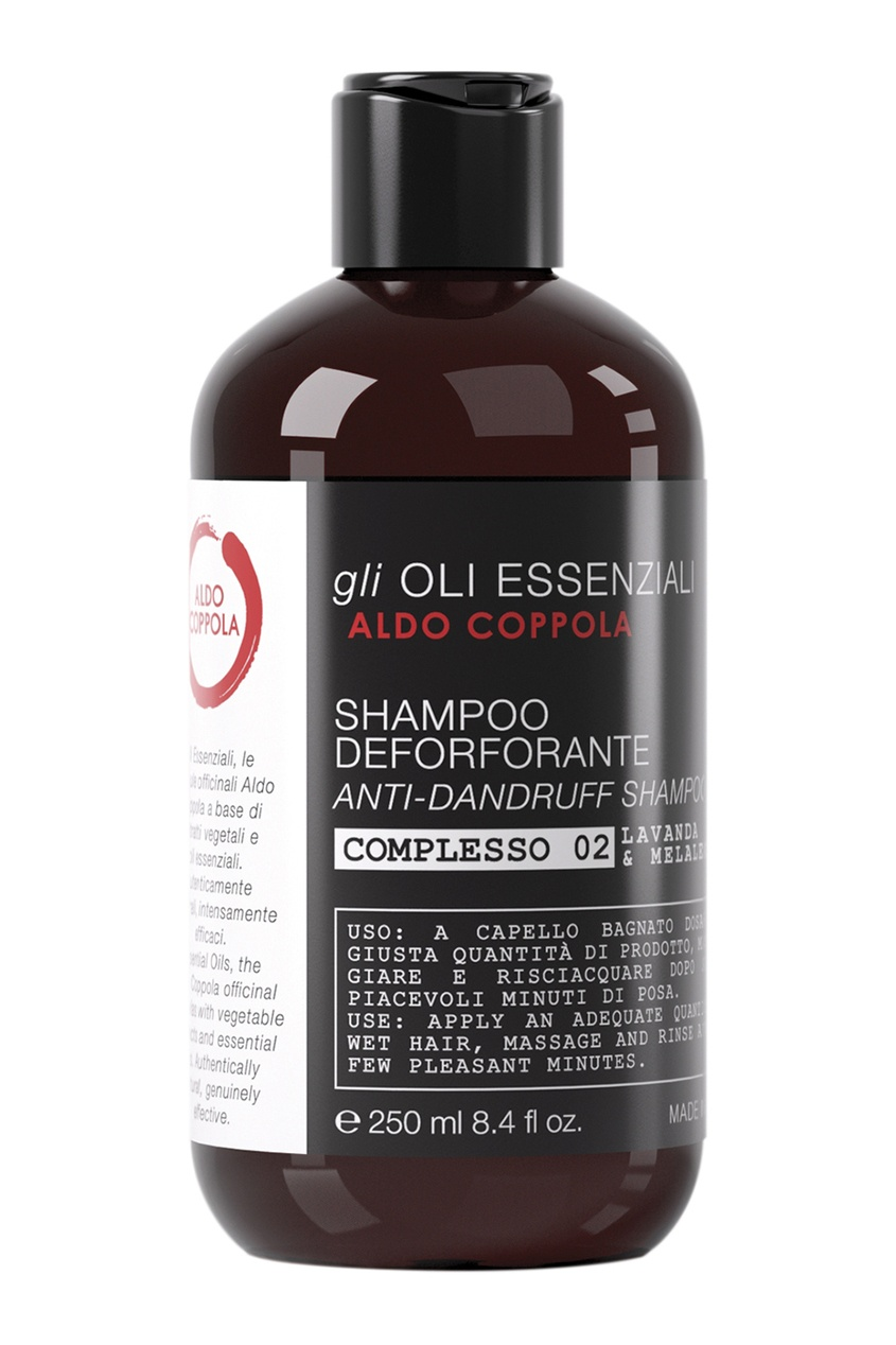 Aldo Coppola Шампунь против перхоти Anti-Dandruff Shampoo, 250ml dikson себобалансирующий шампунь против перхоти keiras shampoo antiforfora dermopurificante 250 мл