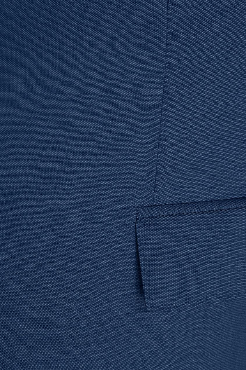 Фото - Шерстяной костюм голубого цвета