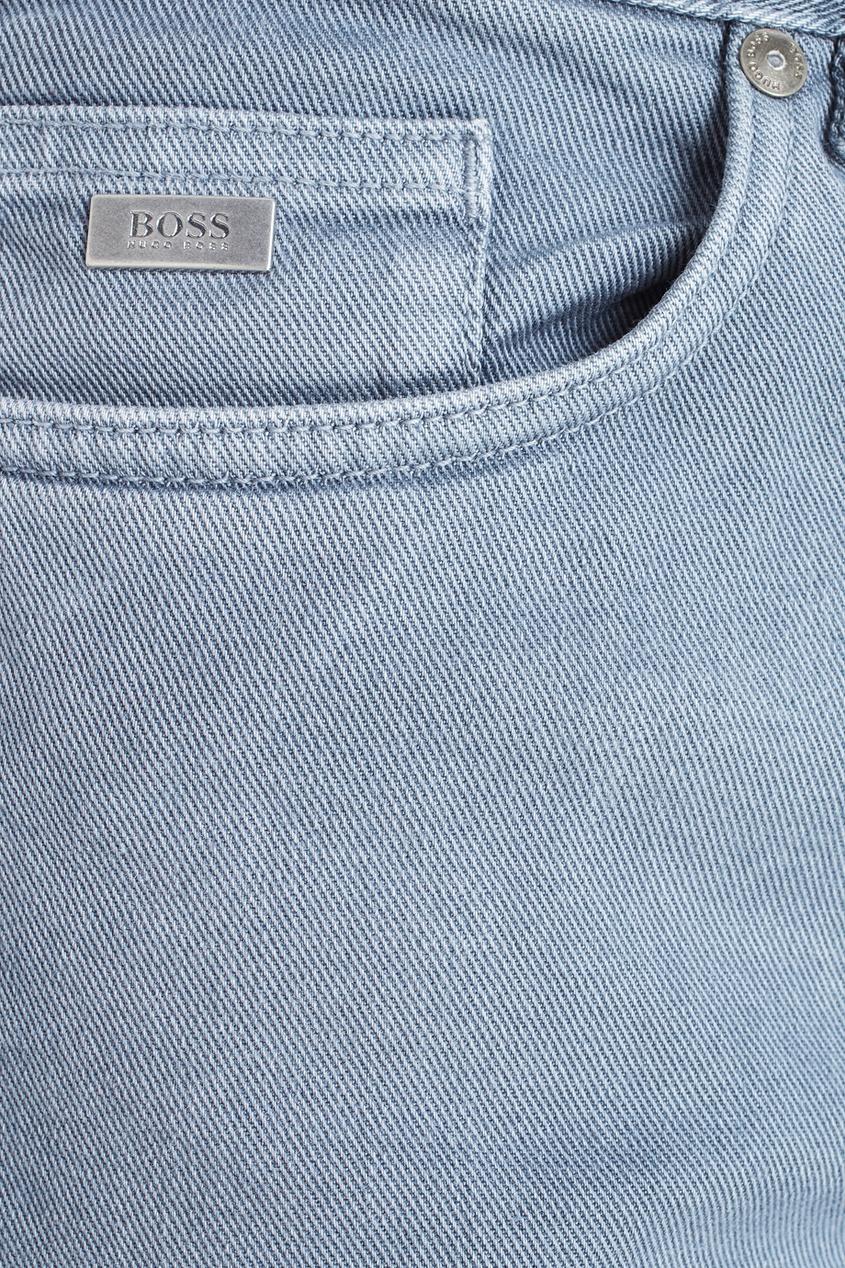 Фото 6 - Джинсы серого цвета
