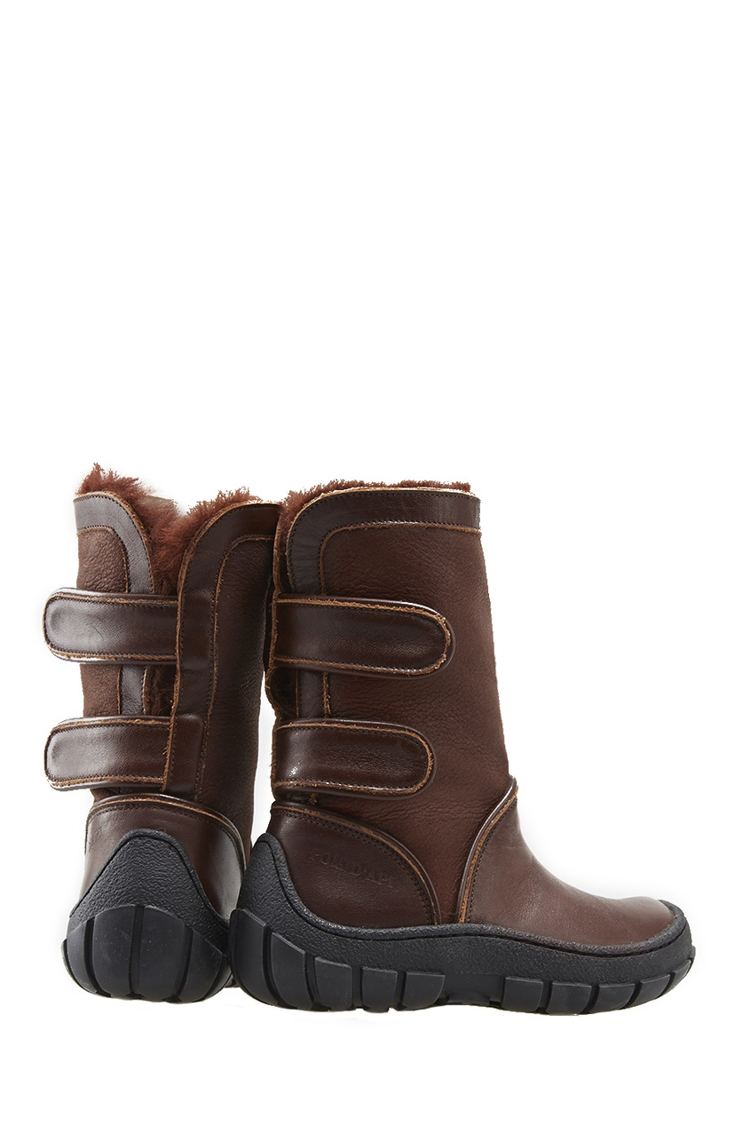 Pom D'Api Кожаные сапоги Piwi Chabraque кожаные сапоги