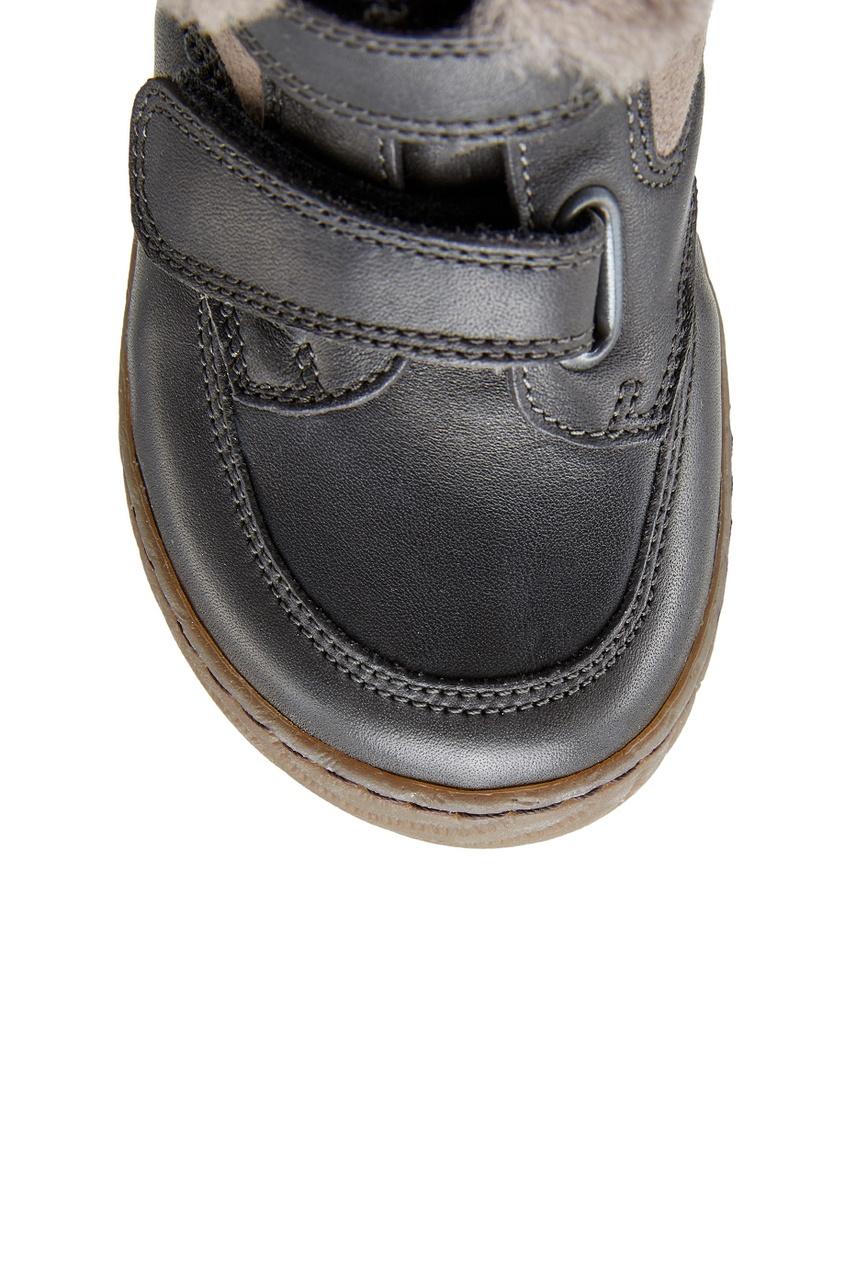 Кожаные полусапоги Woody Velcro