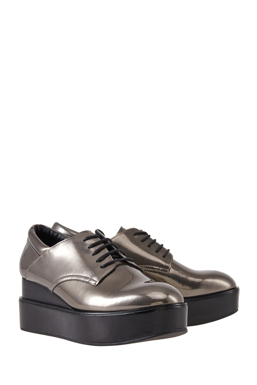 Ботинки из металлизированной кожи Madness
