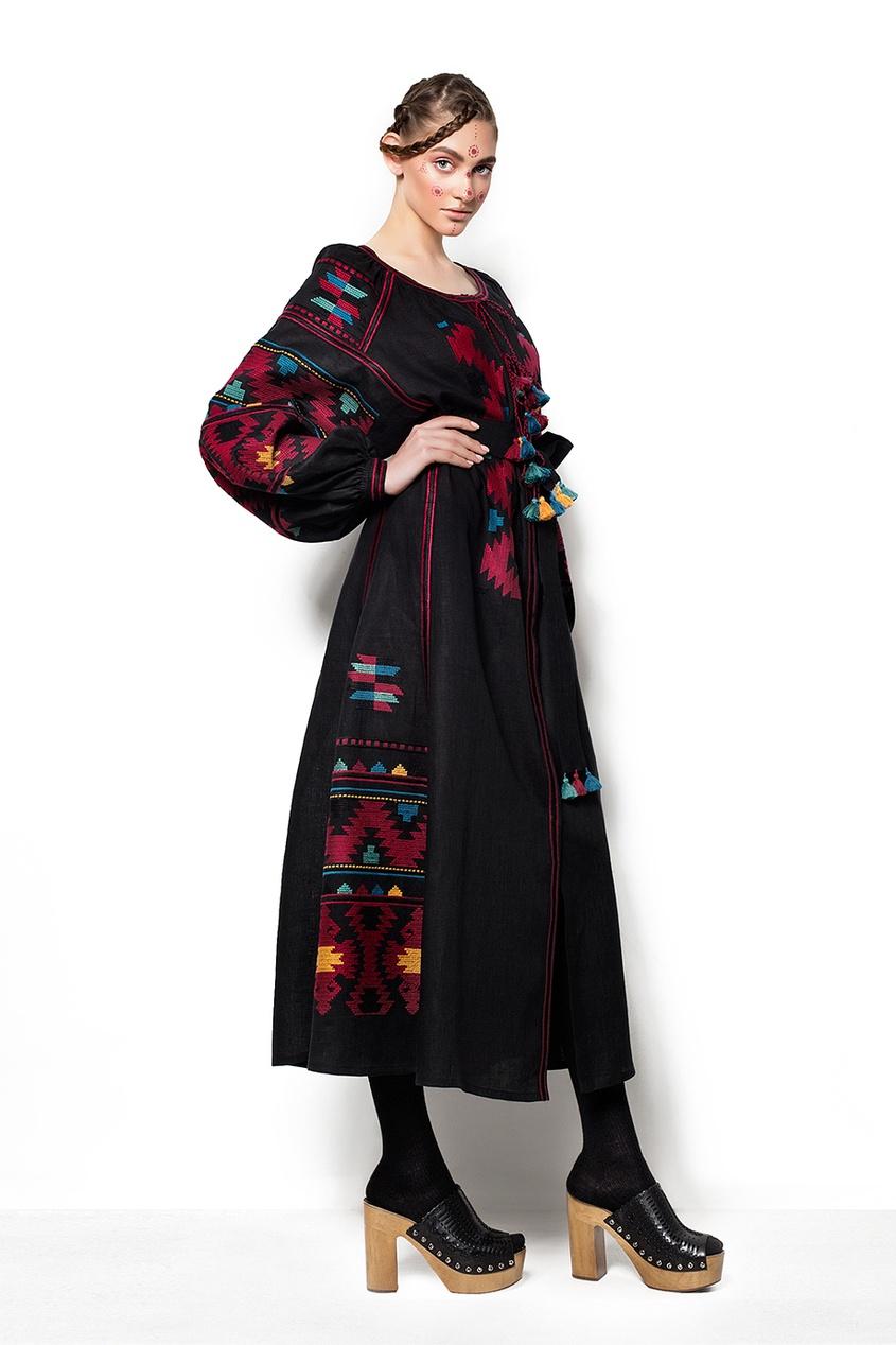 Платье из льна LINEN EAGLE