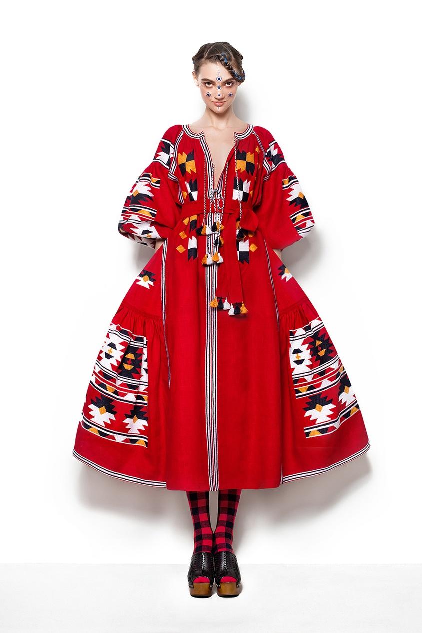Vita Kin Льняное платье льняное платье фенелла