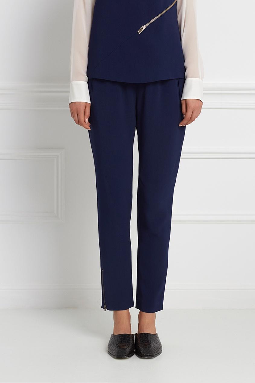 Фото 3 - Однотонные брюки от Stella McCartney синего цвета