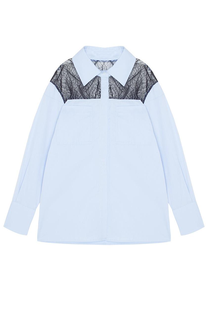 Хлопковая блузка Manhattan