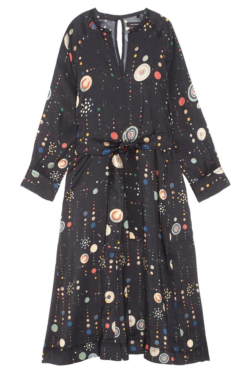 Шелковое платье Olympe