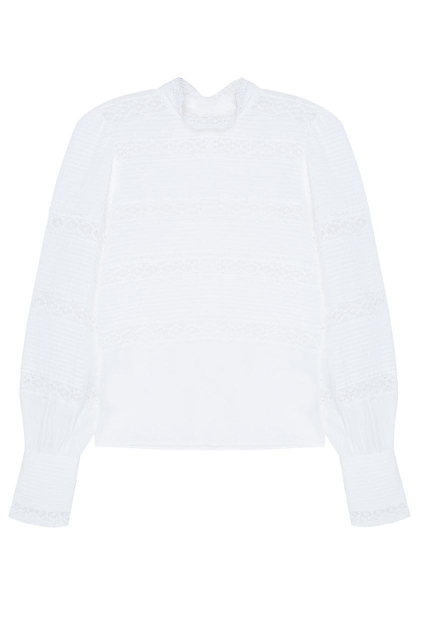 Хлопковая блузка Ria