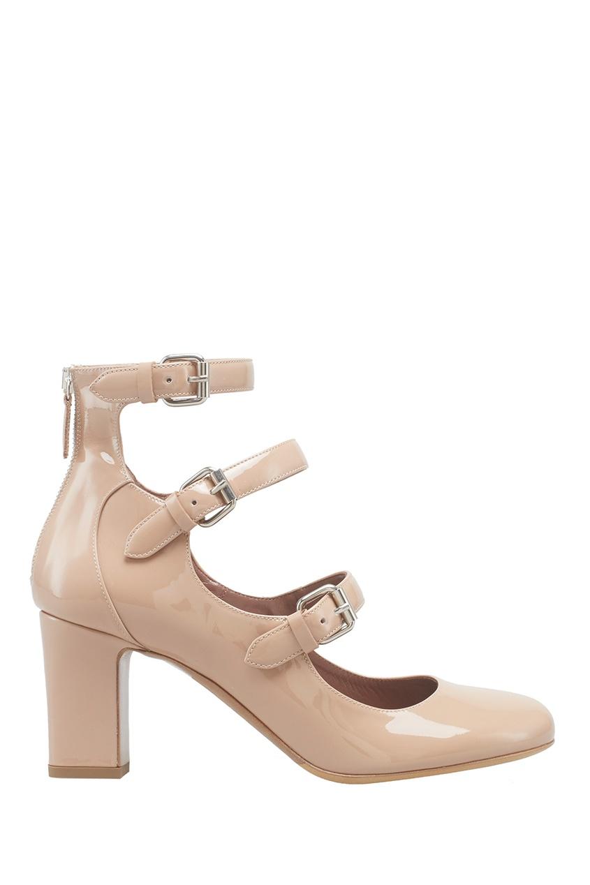 Туфли из лакированной кожи Ginger
