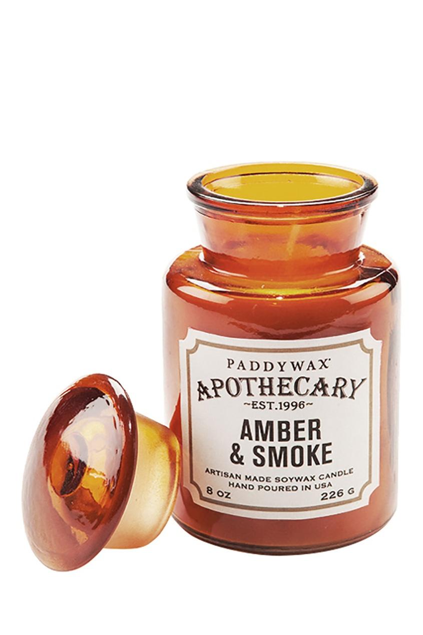 Paddy Wax Ароматическая свеча Amber & Smoke, 227гр