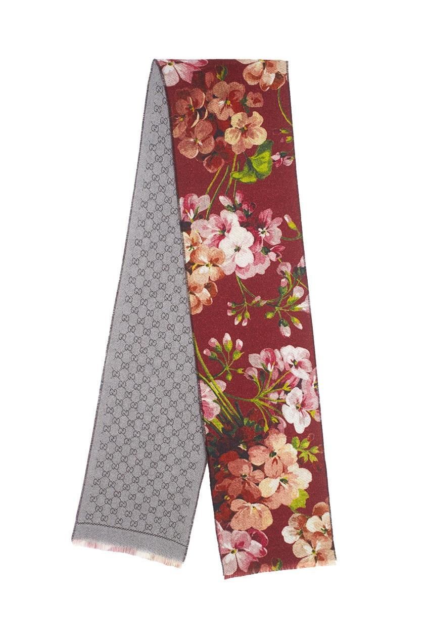 Шерстяной шарф