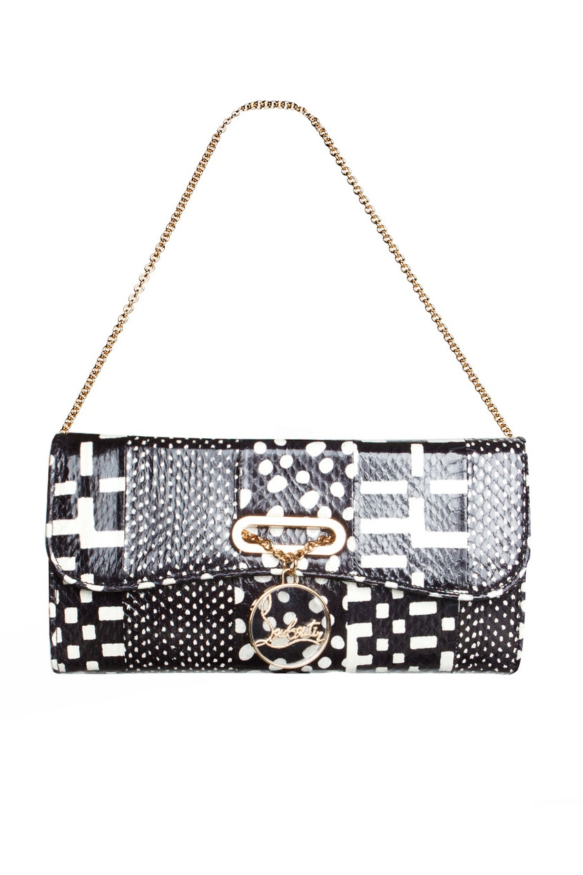 Клатч Riviera Clutch Watersnake Patchwork