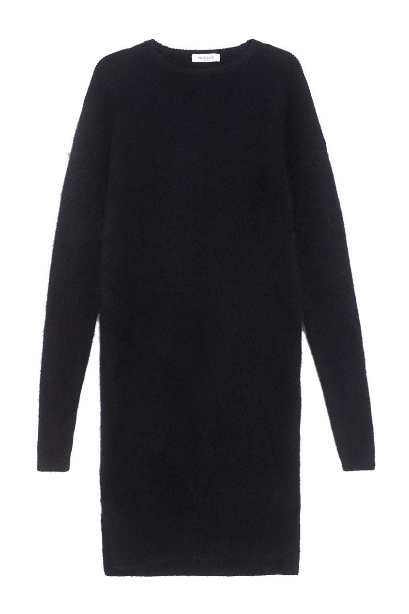 Mugler Шерстяное платье