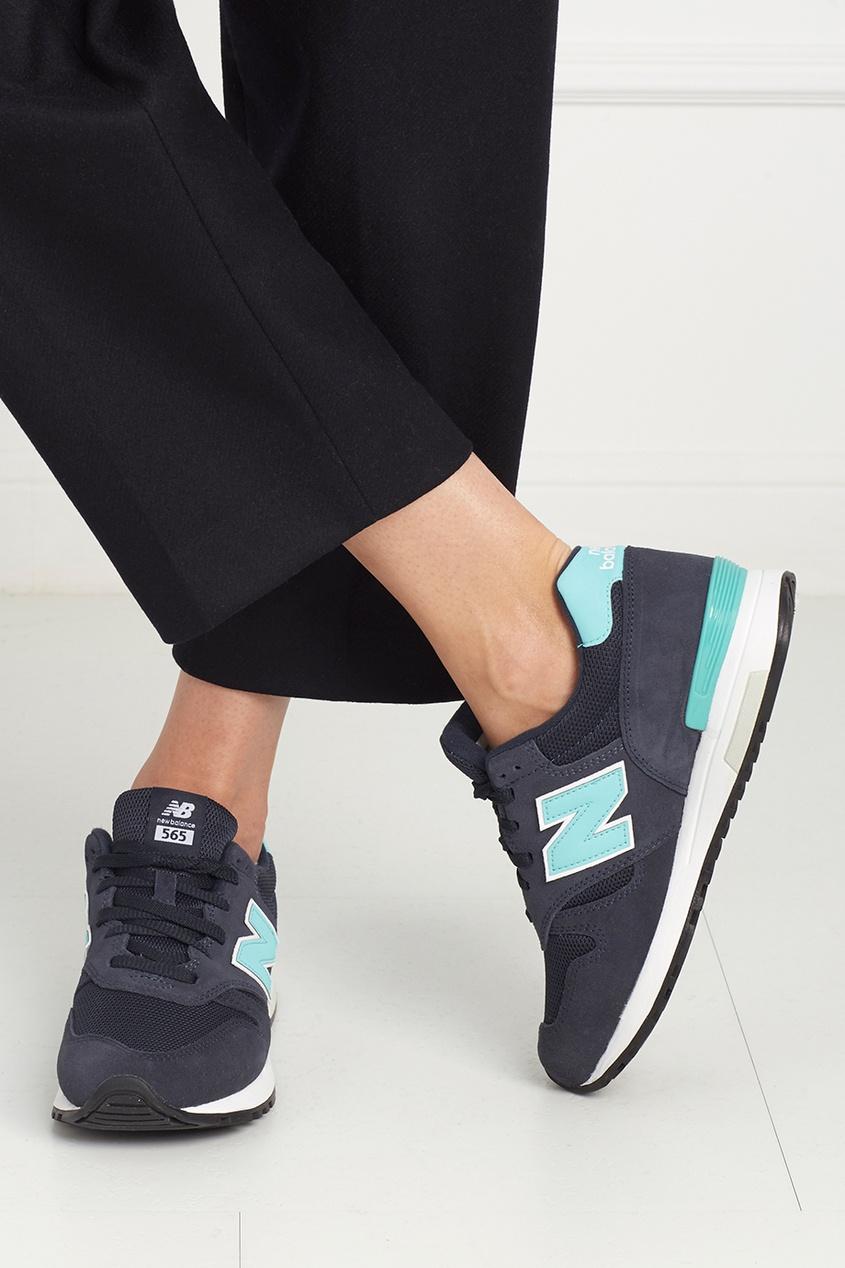 Замшевые кроссовки 565