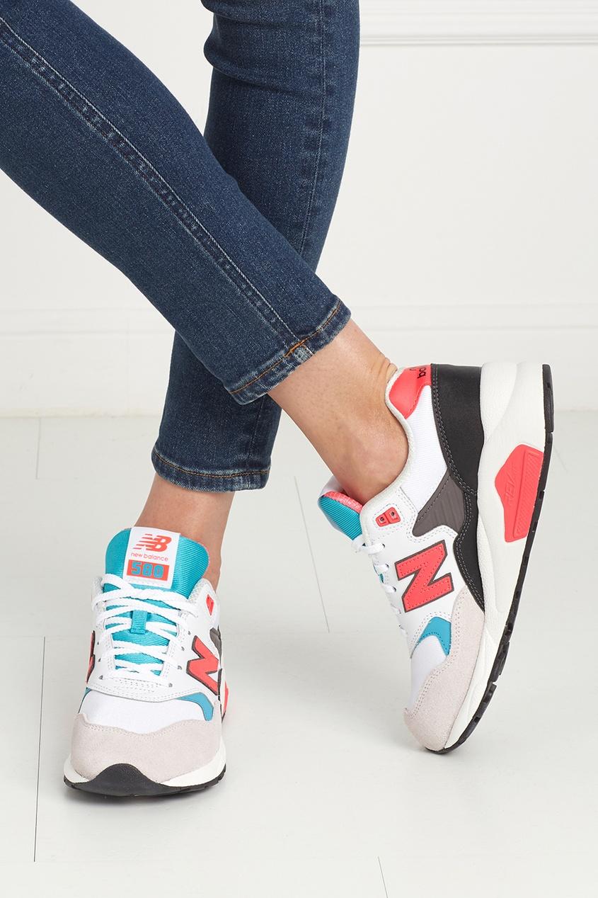 Кожаные кроссовки 580