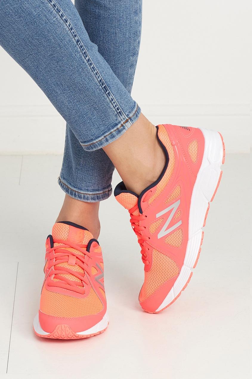 New Balance Кожаные кроссовки 390