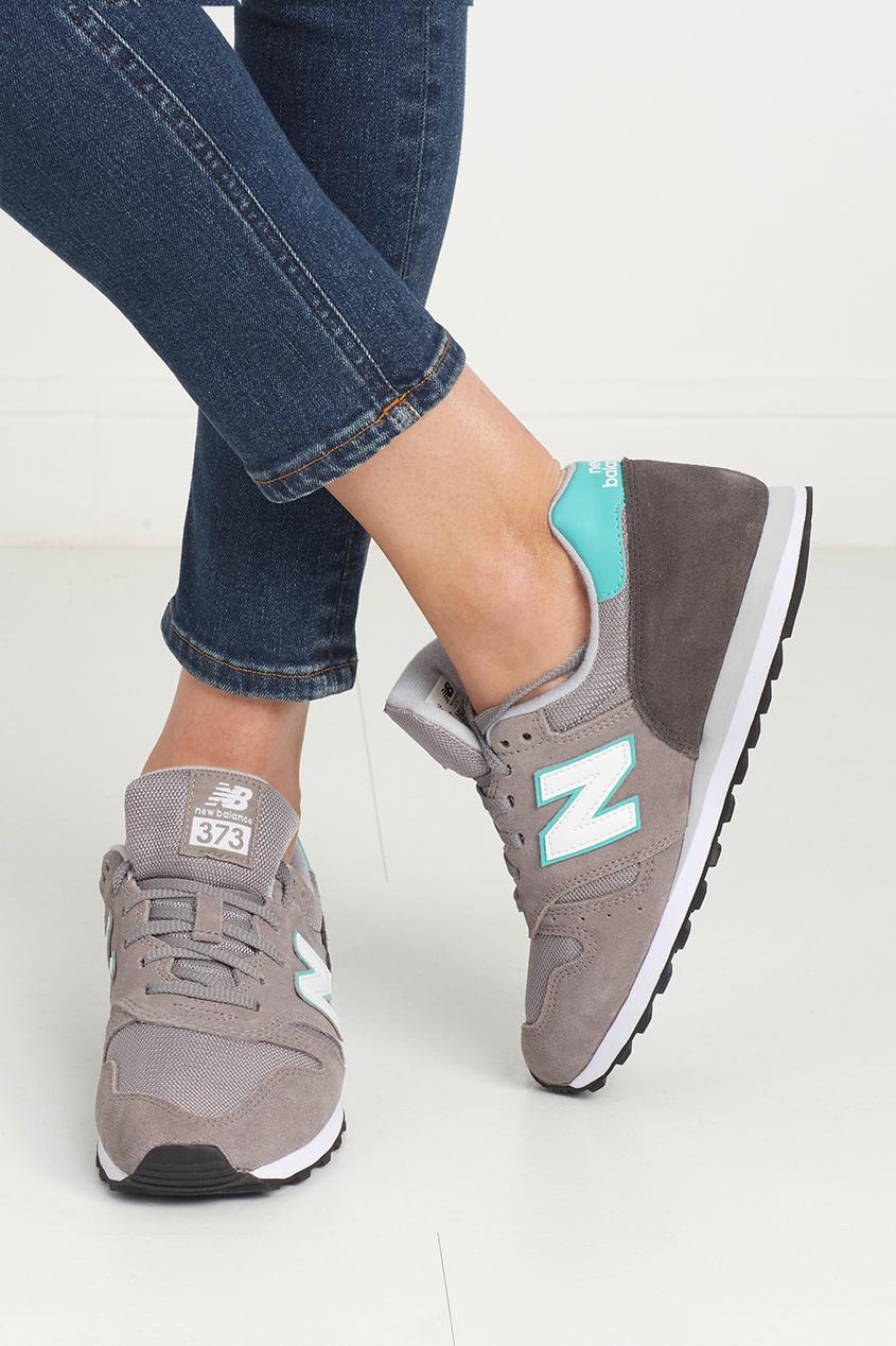 New Balance Замшевые кроссовки 373