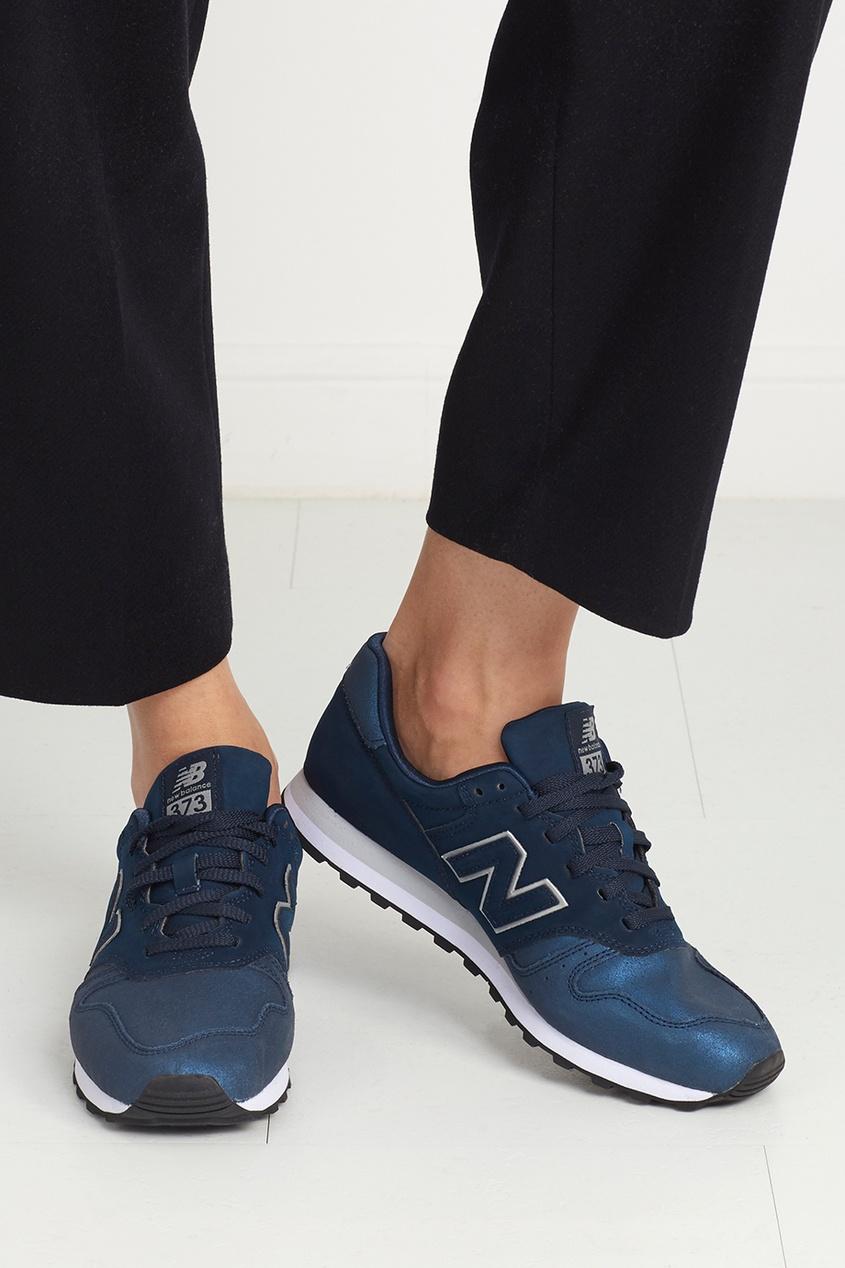 Кожаные кроссовки 373