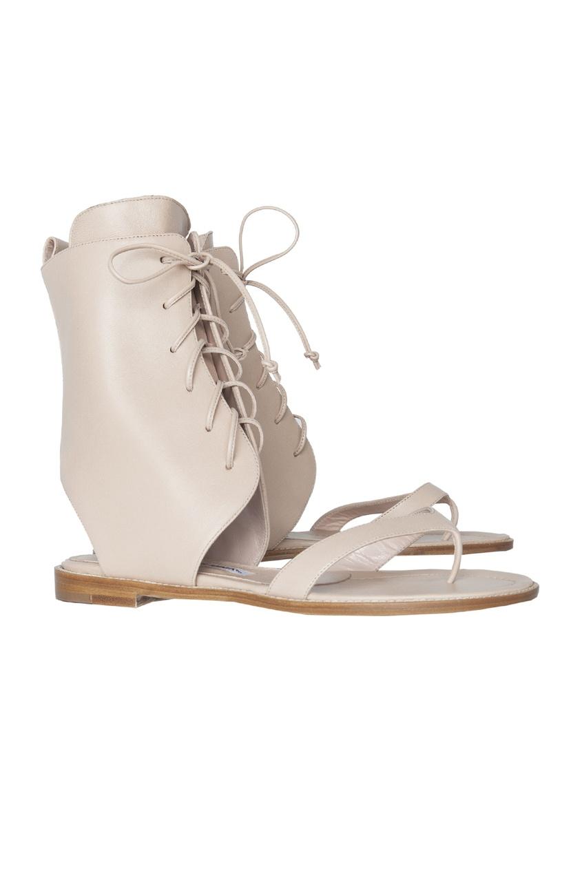 Кожаные сандалии Vestalashozi.