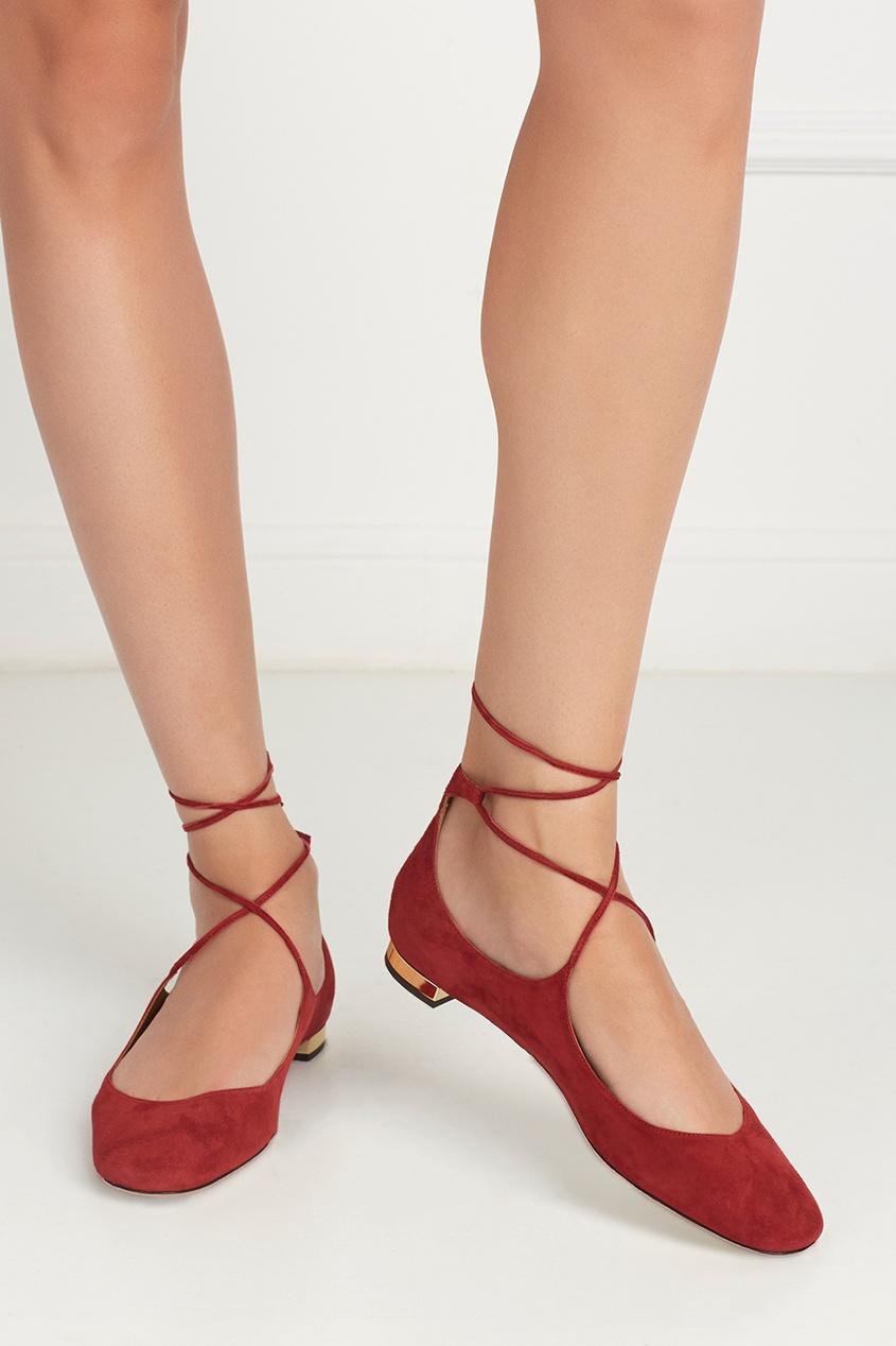 Замшевые туфли Boheme