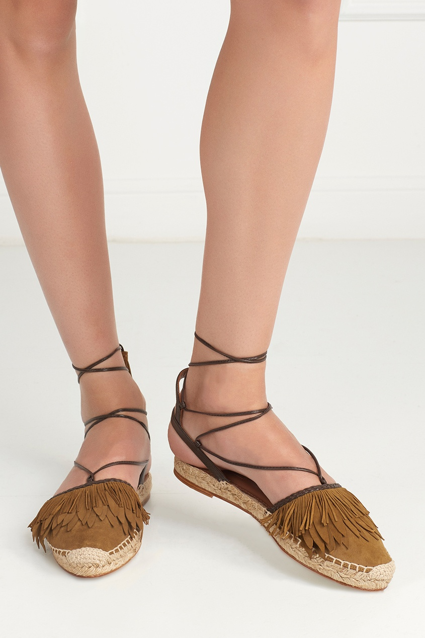 Замшевые сандалии Pocahontas