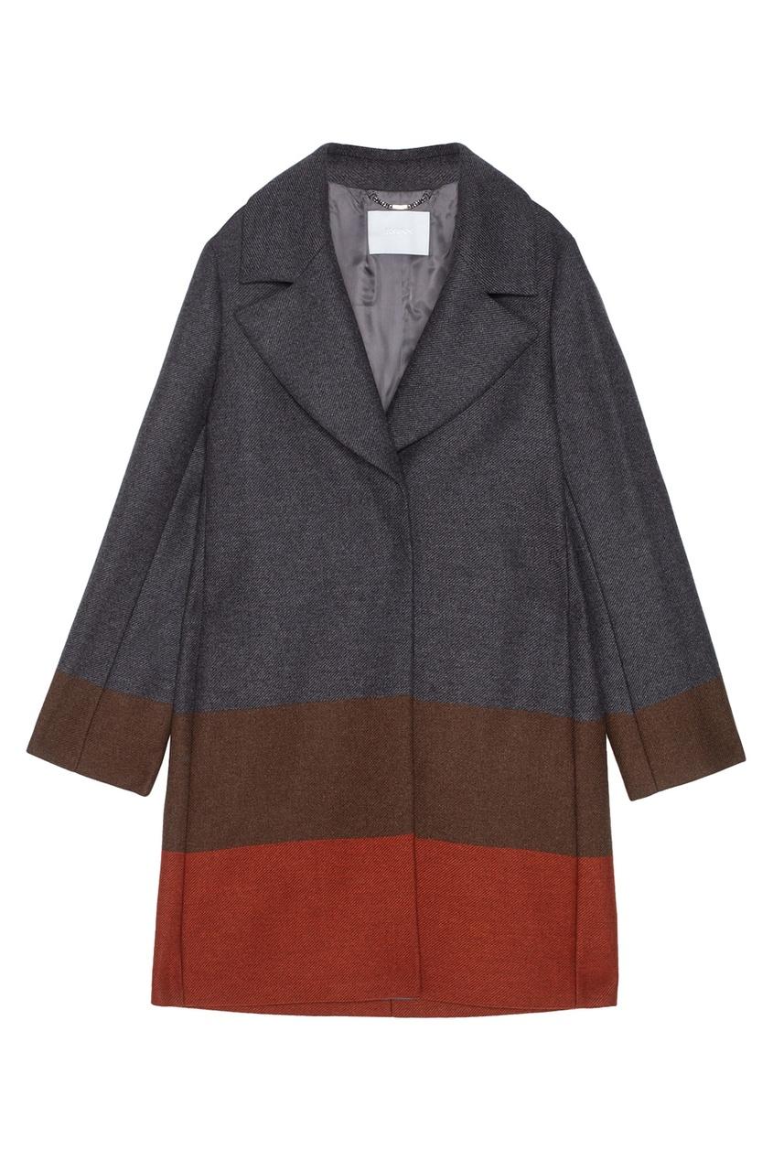 Шерстяное пальто Colora