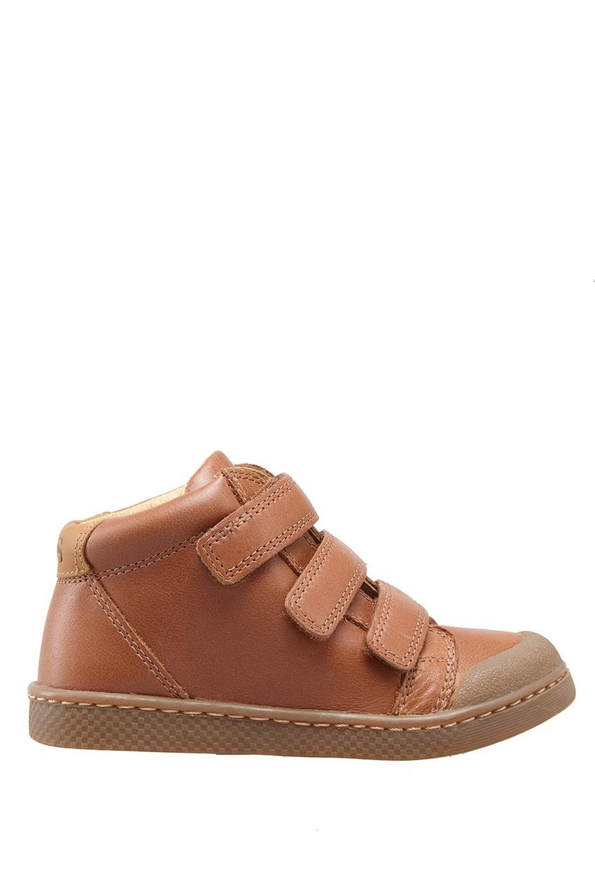 Кожаные ботинки Ten 3 Velcros