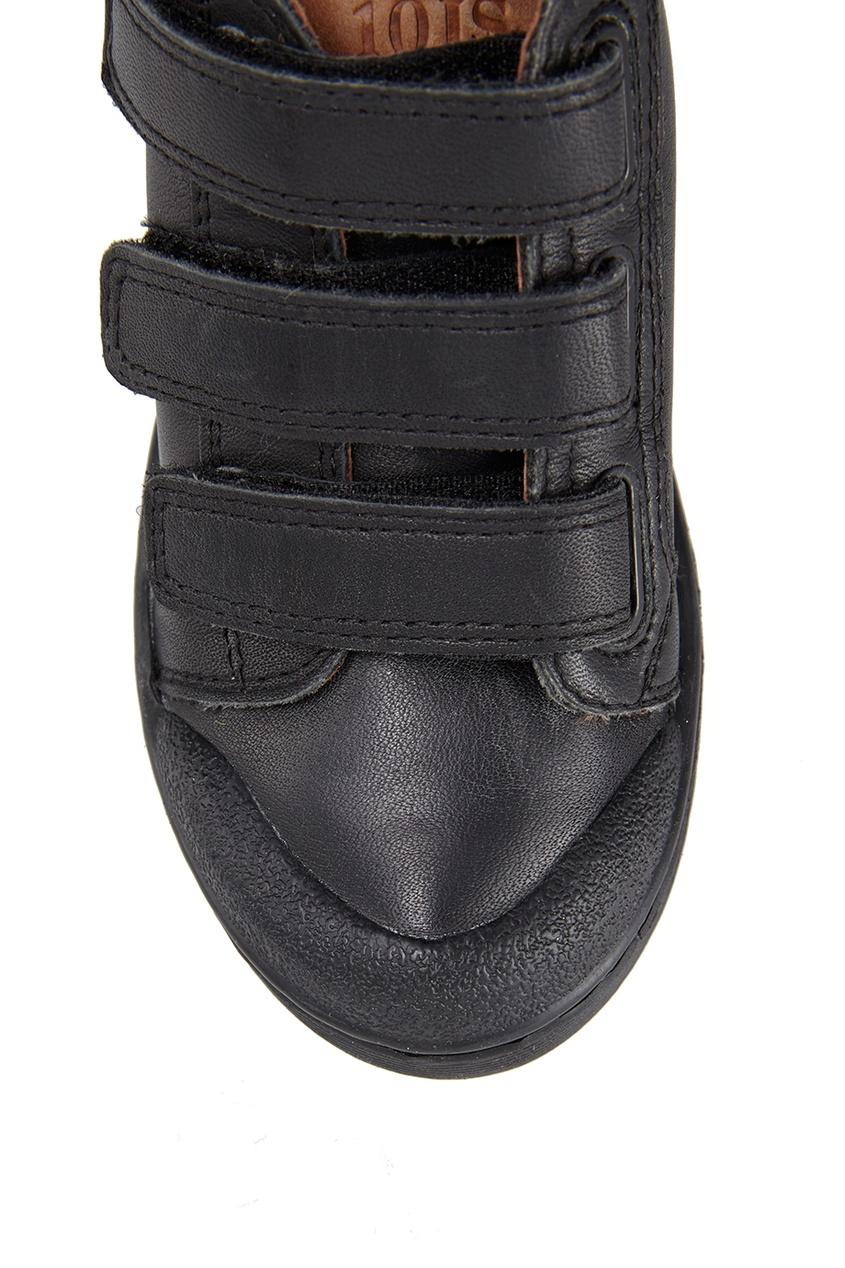 Кожаные кеды Ten 3 Velcros