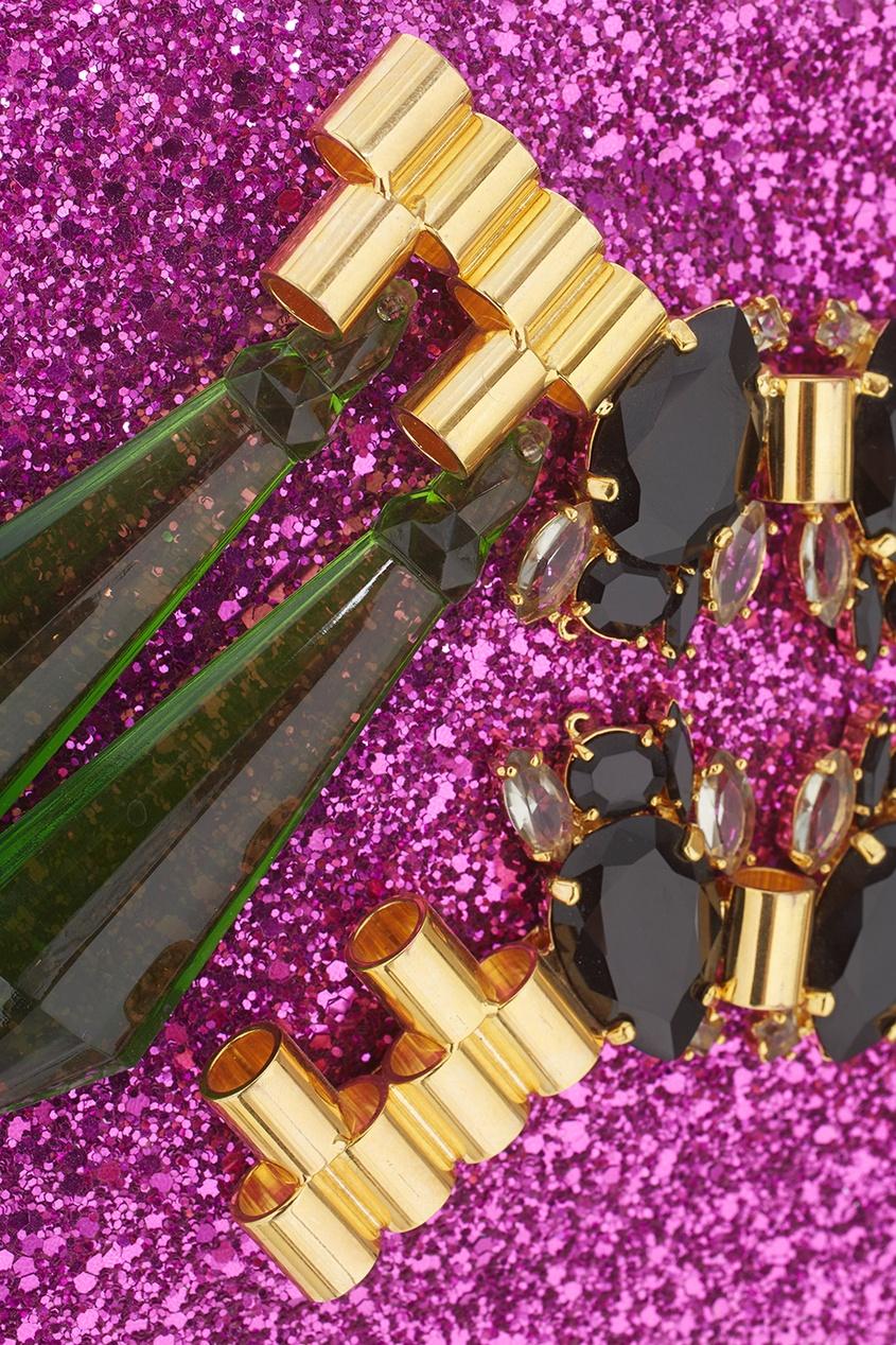 Клатч с кристаллами