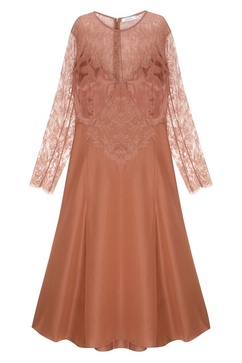 Платье с кружевом от AIZEL