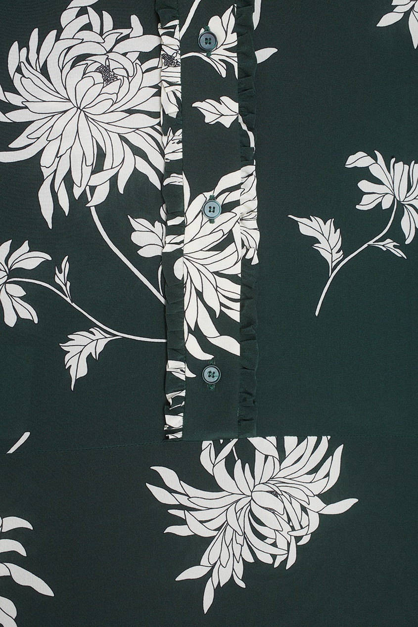 Rochas Шелковое платье