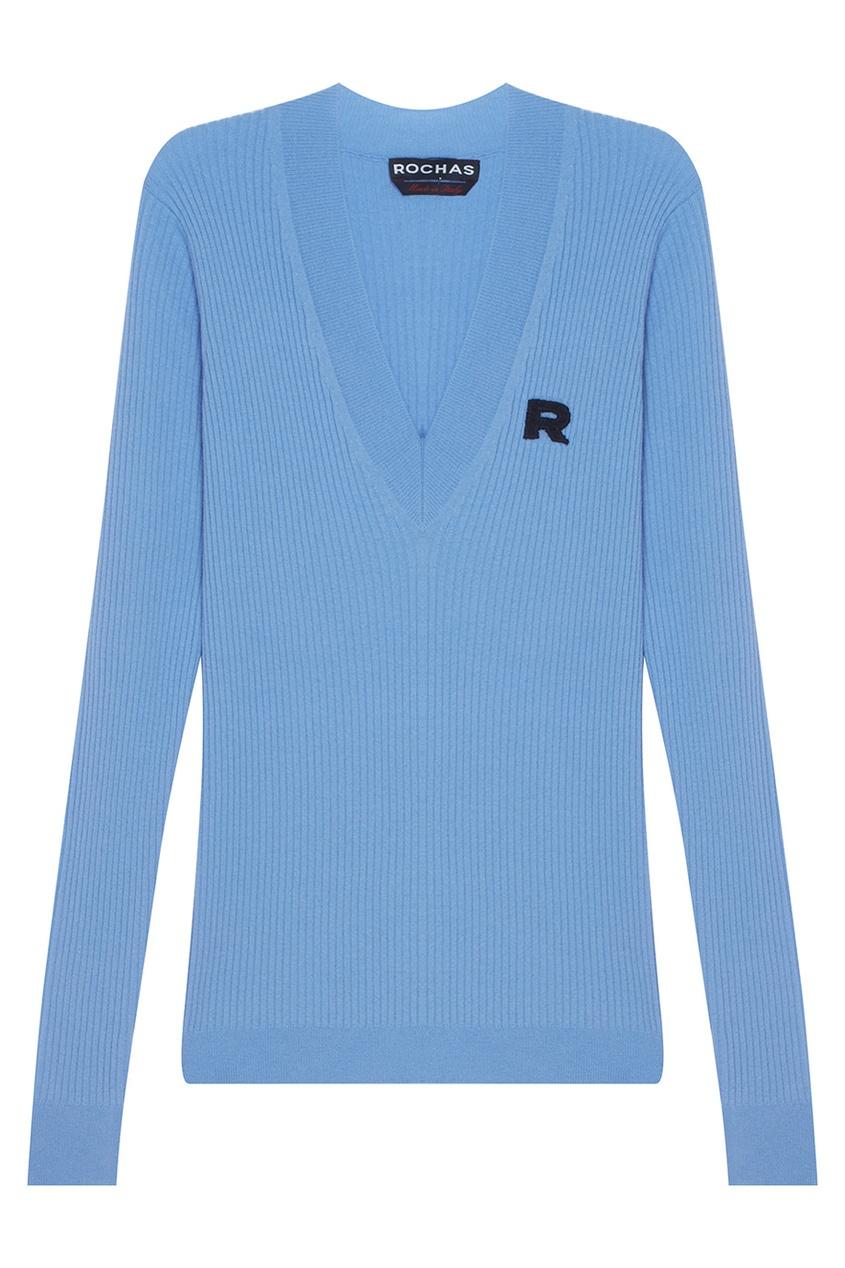 Пуловер из шерсти и кашемира