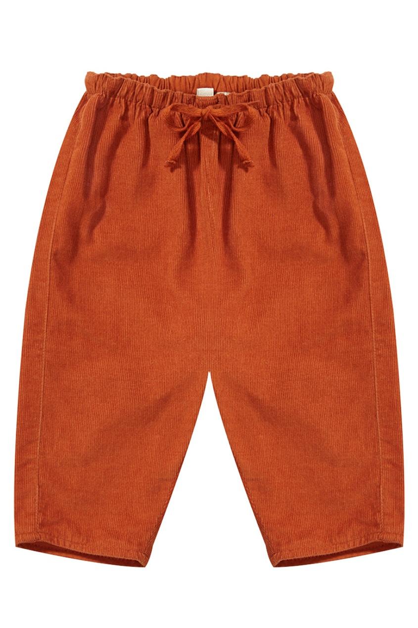 Хлопковые брюки Carnelian Baby