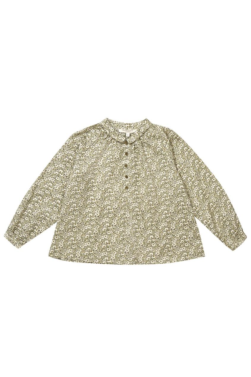 Хлопковая блузка Moss