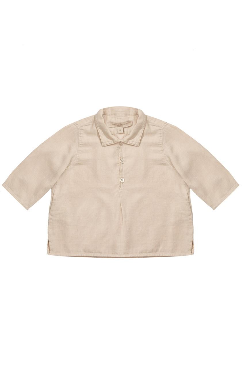 Хлопковая рубашка Feldspar Baby