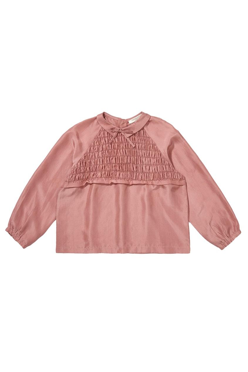 Шелковая блузка Amber