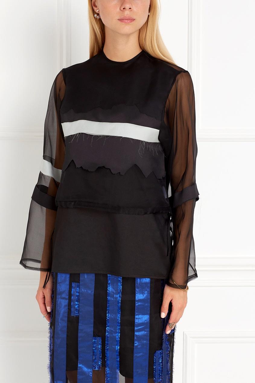 Шелковая блузка Atelier Kikala