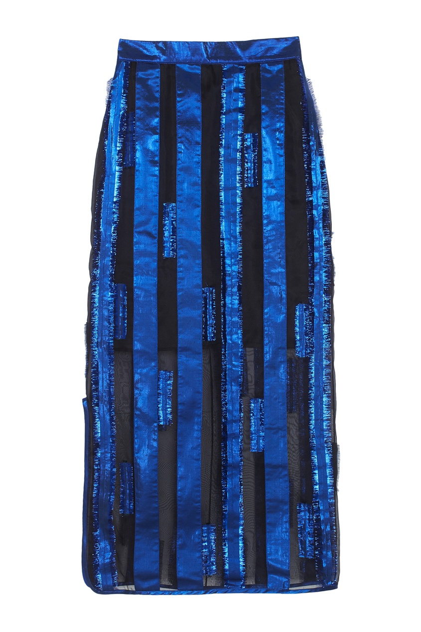 Шелковая юбка Atelier Kikala
