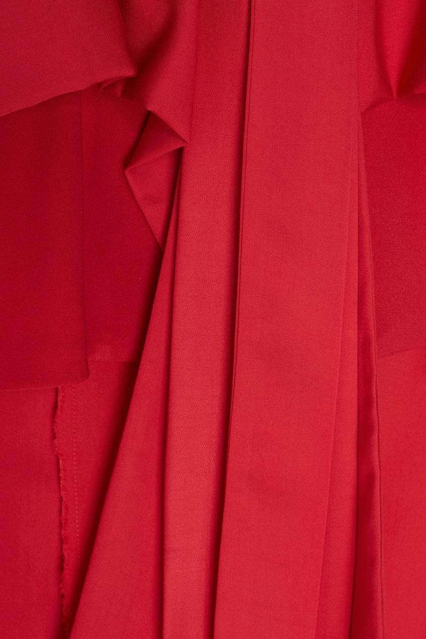 Однотонное платье-халат Eloshi