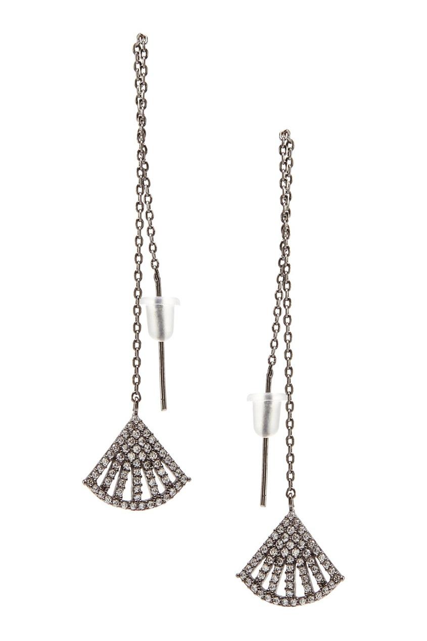 Lisa Smith Серьги с кристаллами
