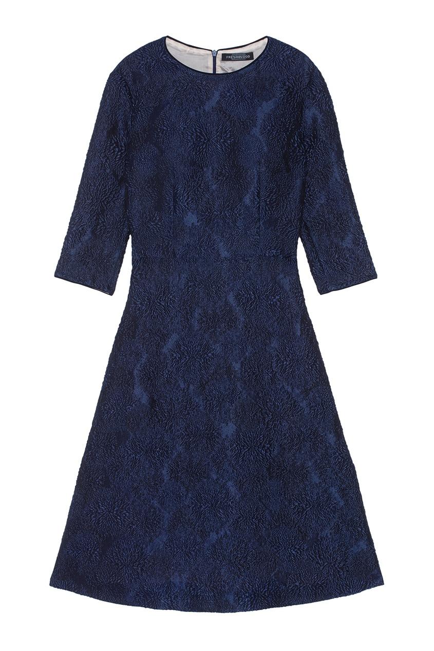 Фото - Платье силуэта new look от Freshblood синего цвета
