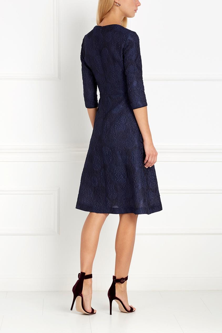 Фото 3 - Платье силуэта new look от Freshblood синего цвета