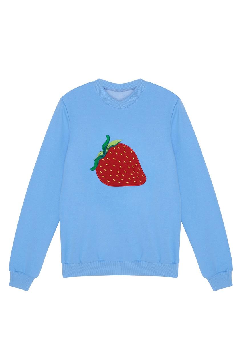 Хлопковый свитшот Strawberry