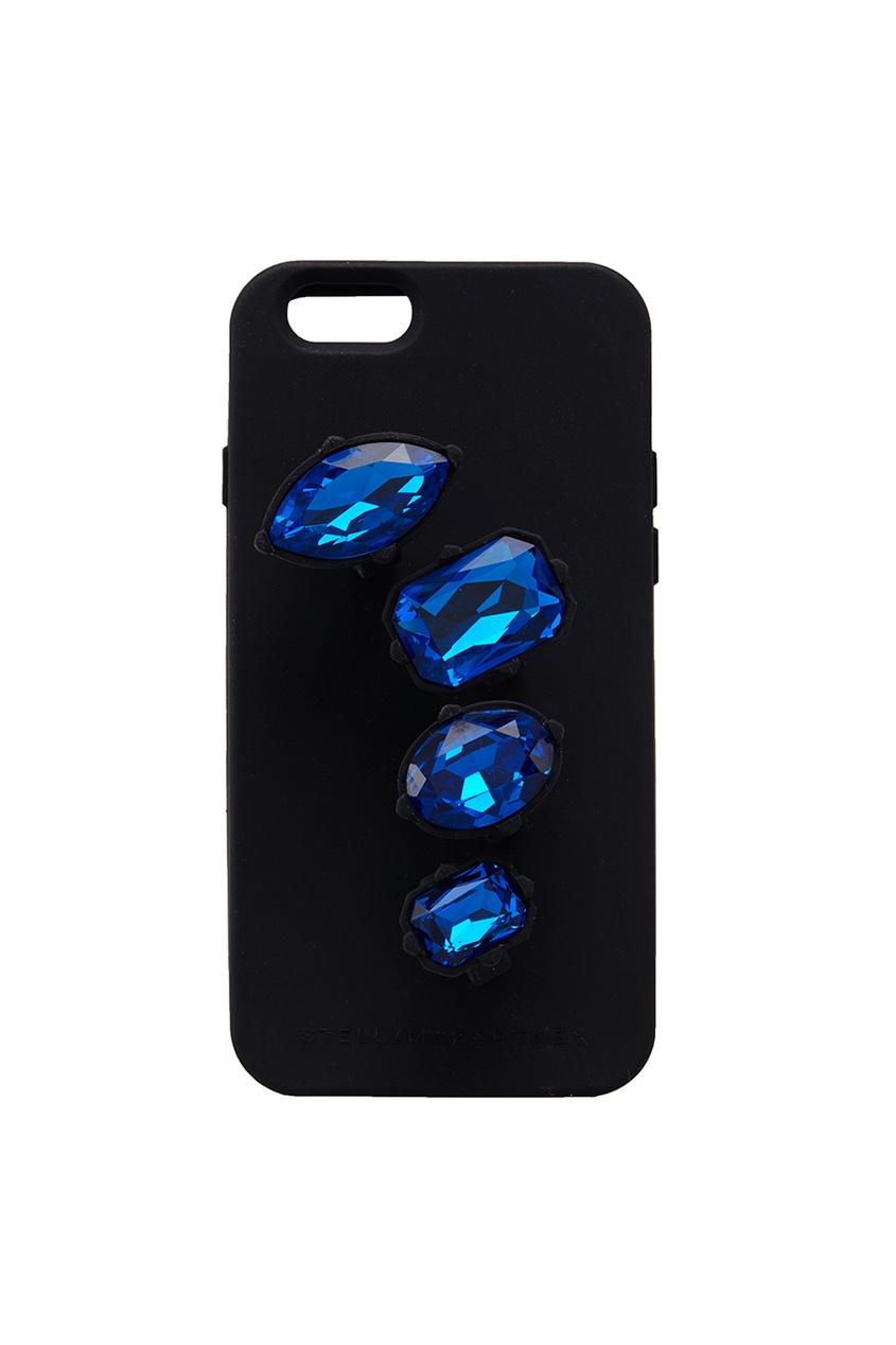 Чехол с кристаллами для iPhone 6