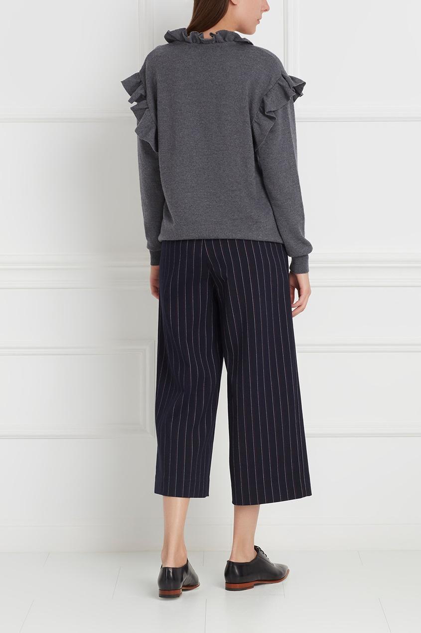 Stella McCartney Шерстяной пуловер