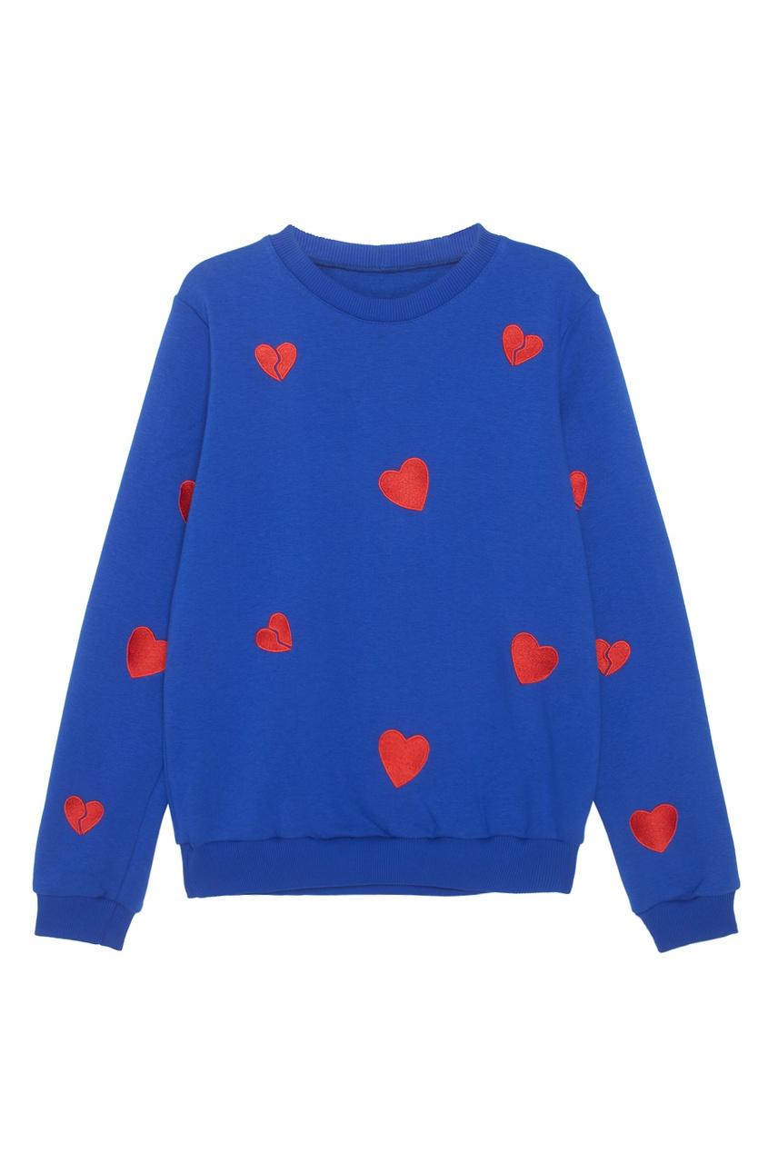 Хлопковый свитшот Heartbreaker